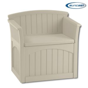 Suncast PB2600 Resin Patio Storage Seat